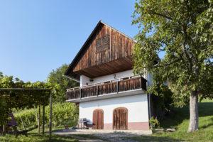 Ferienhaus und Kellerstöckl in der Südsteiermark