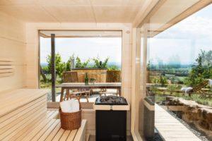 Ferienhaus mit Sauna in der Südsteiermark